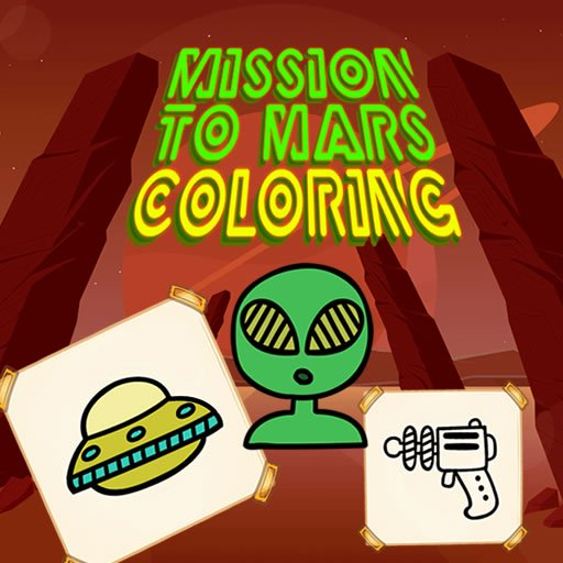 Mission to Mars Coloring