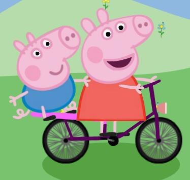 Peppa Pig Bike Racing